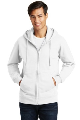 Port & Company ®  Fan Favorite Fleece Full-Zip Hooded Sweatshirt. PC850ZH