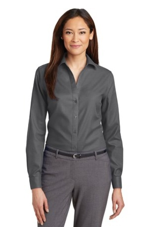 Red House ®  Ladies Non-Iron Diamond Dobby Shirt. RH77
