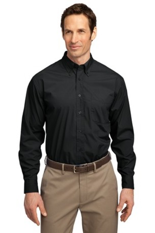 DISCONTINUED  Port Authority ®  Long Sleeve Easy Care, Soil Resistant Shirt.  S607