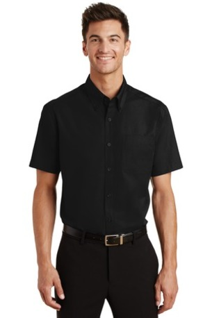 Port Authority ®  Short Sleeve Value Poplin Shirt. S633