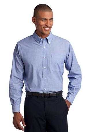 Port Authority ®  Crosshatch Easy Care Shirt. S640