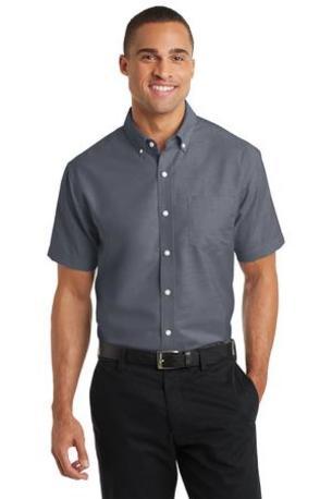 Port Authority ®  Short Sleeve SuperPro -  Oxford Shirt. S659