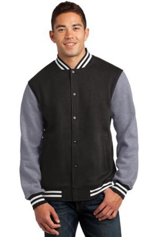Sport-Tek ®  Fleece Letterman Jacket. ST270