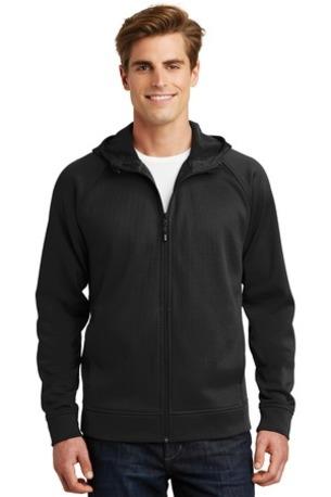Sport-Tek ®  Rival Tech Fleece Full-Zip Hooded Jacket. ST295