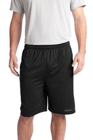 Sport-Tek ®  PosiCharge ®  Tough Mesh Pocket Short. ST312