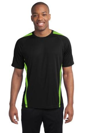 Sport-Tek ®  Colorblock PosiCharge ®  Competitor- Tee. ST351