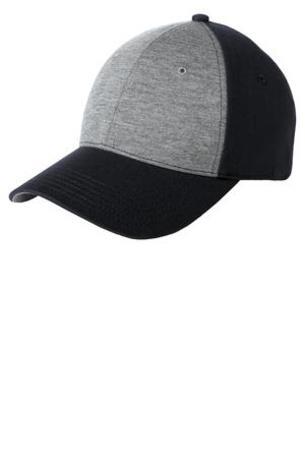 Sport-Tek ®  Jersey Front Cap. STC18