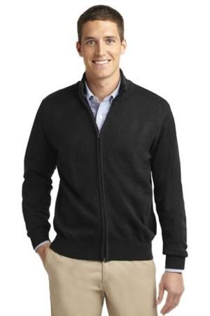Port Authority ®  Value Full-Zip Mock Neck Sweater. SW303