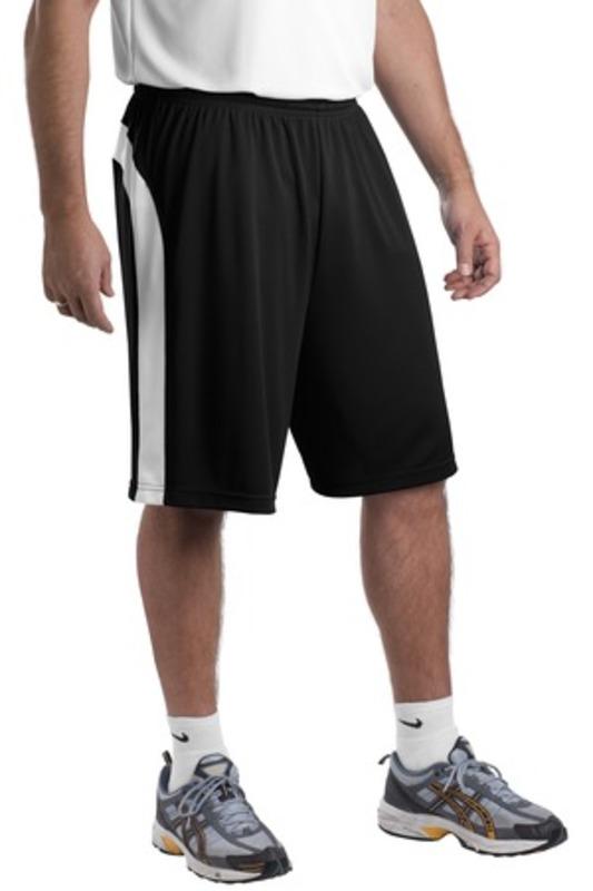 DISCONTINUED  Sport-Tek ®  Dry Zone ®  Colorblock Short. T479