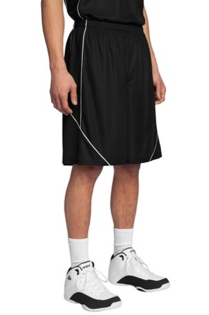 Sport-Tek ®  PosiCharge ®  Mesh Reversible Spliced Short. T565