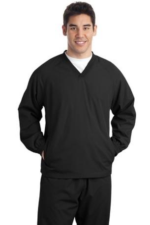 Sport-Tek ®  Tall V-Neck Raglan Wind Shirt. TJST72