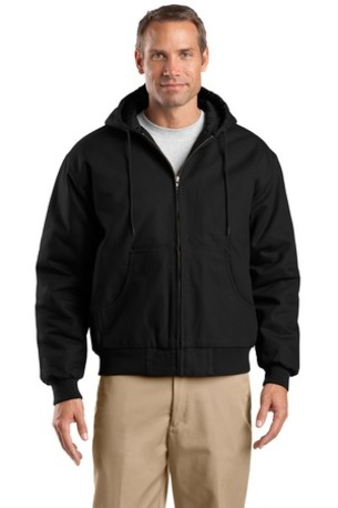 CornerStone ®  Tall Duck Cloth Hooded Work Jacket. TLJ763H