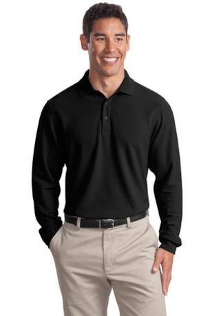 Port Authority ®  Tall Long Sleeve EZCotton- Pique Polo. TLK800LS