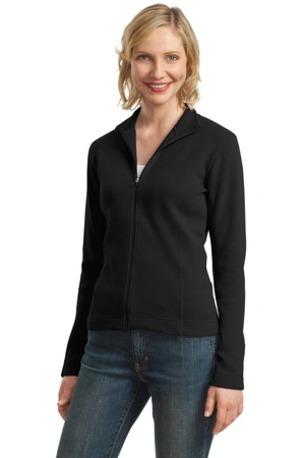 Port Authority ®  Ladies Flatback Rib Full-Zip Jacket.  L221