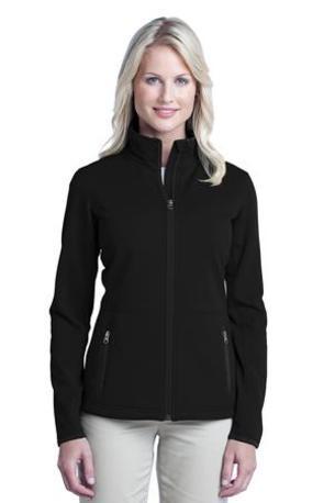 Port Authority ®  Ladies Pique Fleece Jacket. L222