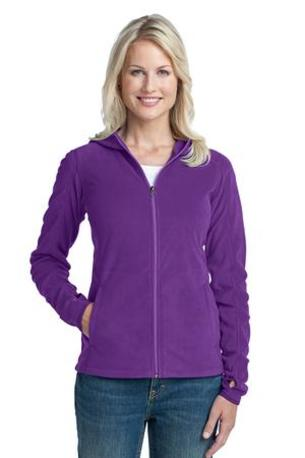 DISCONTINUED  Port Authority ®  Ladies Microfleece Hoodie. L225