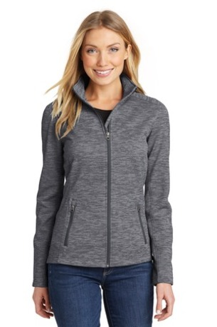 Port Authority ®  Ladies Digi Stripe Fleece Jacket. L231