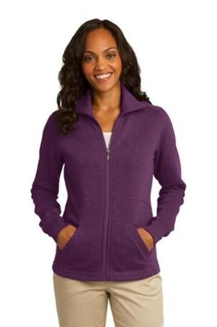 Port Authority ®  Ladies Slub Fleece Full-Zip Jacket. L293