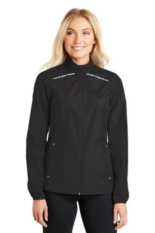 Port Authority ®  Ladies Zephyr Reflective Hit Full-Zip Jacket. L345