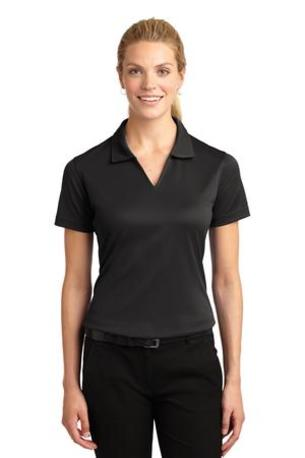 Sport-Tek ®  Ladies Dri-Mesh ®  V-Neck Polo.  L469