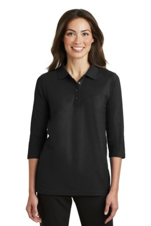 Port Authority ®  Ladies Silk Touch- 3/4-Sleeve Polo. L562