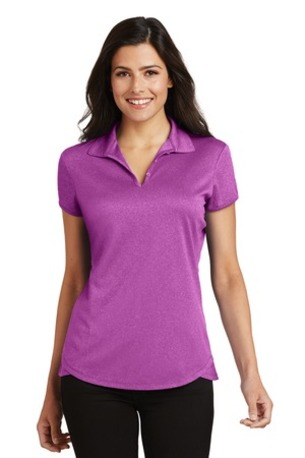 Port Authority ®  Ladies Trace Heather Polo. L576