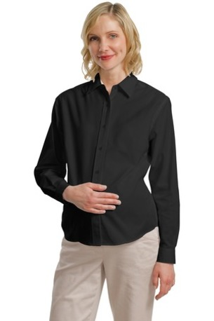 DISCONTINUED  Port Authority ®  Maternity Long Sleeve Easy Care Shirt.  L608M