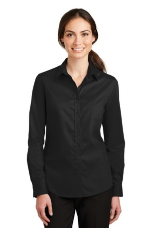 Port Authority ®  Ladies SuperPro -  Twill Shirt. L663