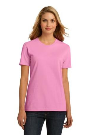 DISCONTINUED  Port & Company ®  Ladies Essential 100% Organic Ring Spun Cotton T-Shirt. LPC150ORG