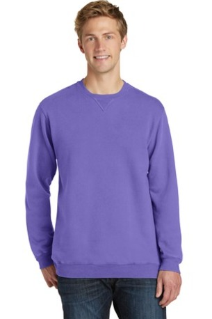Port & Company ®  Pigment-Dyed Crewneck Sweatshirt. PC098