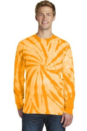 Port & Company ®  Tie-Dye Long Sleeve Tee.  PC147LS